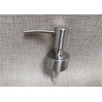 Quality Recyclable Pump Tops For Bottles , Ribbed Closure Lotion Soap Dispenser Pumps for sale