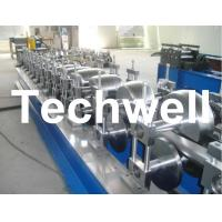 Buy cheap 80mm, 100mm Or 120mm Custom Round Downspout Roll Forming Machine for Rainwater Downpipe product