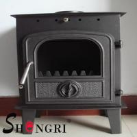 Buy cheap 6KW wood casting iron stoves forest paint surface product