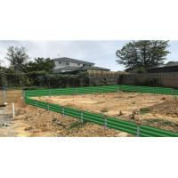 China Hot dip Galvanized  Steel Retaining  steel  Wall & Fence with Installing Service on sale