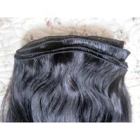100% Real Virgin silky straight Indian hair hand tied weft