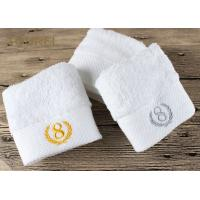 Buy cheap 100% Cotton Platinum Satin Hotel Face Towel product