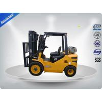 China 3 Tons No Pollution Dual Fuel ForkliftWith Standard / Upper - Positioner Exhaust wholesale