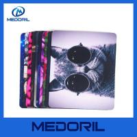 Buy cheap Hot selling rubber mouse pad roll material custom logo square gel mouse pad product