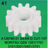 Buy cheap A128760-01 GEAR D-CUT 13 TEETH FOR NORITSU qss1201,1701,3101,3201,3401,3701 minilab product