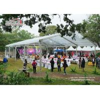Buy cheap Luxury Outdoor Transparent Tent / Clear Roof Party Wedding Tent For 500 People product
