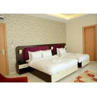 Buy cheap King Size Bedroom Furniture Set Walnut Color Modern Style OEM Service product