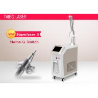 China Pigment Removal Laser Tattoo Removal Q Switch Nd Yag Laser Blackhead Removal Machine wholesale