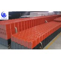 Quality Light Weight Building Materials Thick Plastic Decorative Long Span Color Coated Roofing Sheet for sale