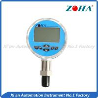 China High Accuracy Digital Pressure Gauge 100mm With Temperature Measurement  Additional on sale