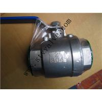 China 1000WOG WPT 1 1/4'' 2PC Stainless Steel Screwed Ball Valve wholesale