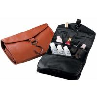 Buy cheap Business travel PU hanging toiletry bag for men product