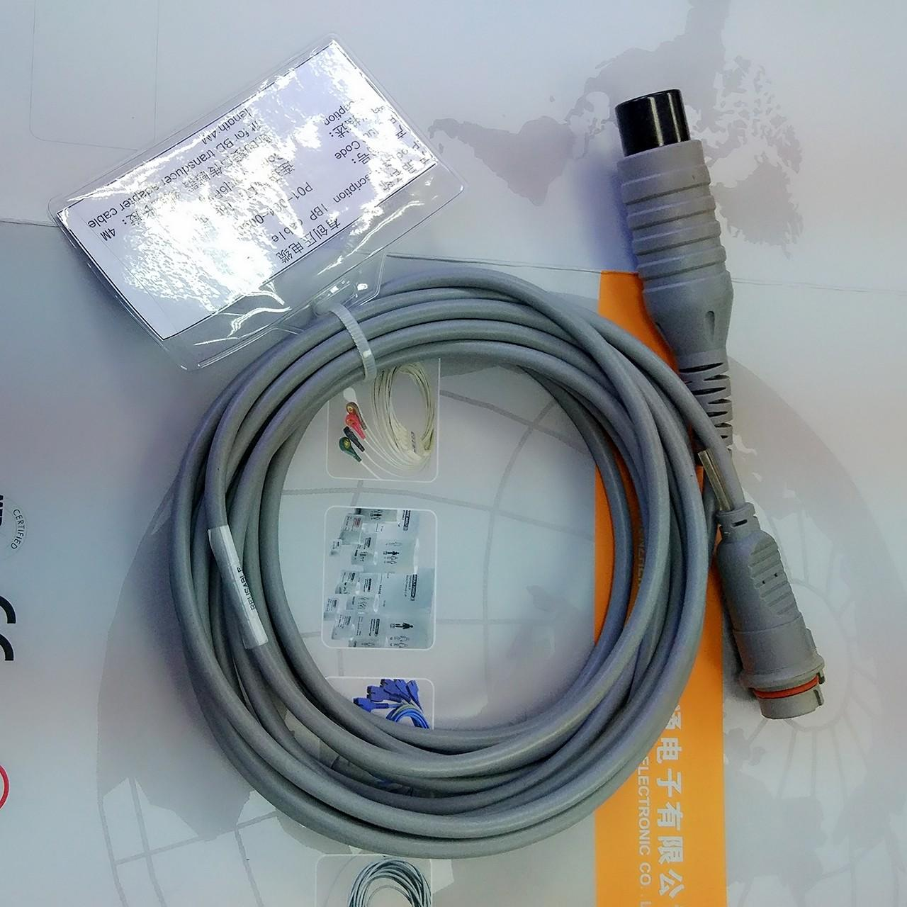 Buy cheap Generic AAMI Reusable Spo2 Sensor BD Transducer Adapter IBP Cable from wholesalers