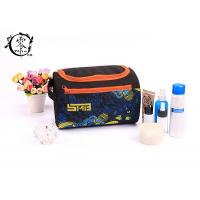Buy cheap Multifunctional Toiletry Portable Makeup Bag Cosmetic Pouch Polyester Waterproof Travel Hanging product