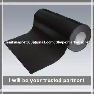 China Good Price Magnetic sheet; Flexible rubber magnet roll Бумага магнитная для струйных принтеров в рулонах on sale