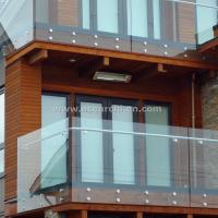 Buy cheap Flexible Glass Standoff Glass Railing Hardware Stainless Steel product