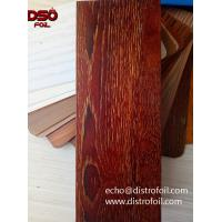 China How to get Wood grain finish on aluminum on sale