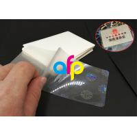 Buy cheap Hot Lamination Machine Suit Laminating Pouch Film , Glossy Thermal Laminating Pouches product