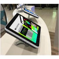 Buy cheap 10.1 Inch Android Touch Screen Advertising Player With Table Stand Bracket product