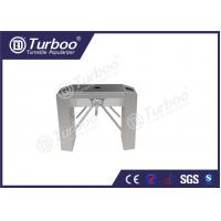 Buy cheap Waterproof tripod turnstile gate bridge style stainless steel turnstiles product