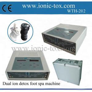 Buy cheap la despedregadora del ion del detox del balneario del pie con el sistema dual se puede utilizar por dos personas product