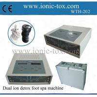 Buy cheap foot spa detox ion cleanser with dual system can be used by two people from wholesalers