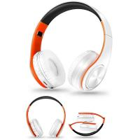 China Foldable Noise Cancelling Headphones Sweat Resistant HIFI FM Radio TF Card Support on sale