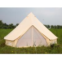 Buy cheap Luxury Outdoor Canvas Tent Zip Up Tent Yurt Tents /  Bell Tents for Camping product