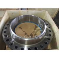 Buy cheap Non-Standard  Or Customized Stainless Steel Flange PED Certificates ASME / ASTM-2013 product