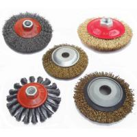 Buy cheap Good brass wire garden brush with different scraper product