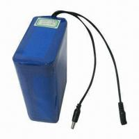 Buy cheap 14.8V Rechargeable Battery Bank with Built-in Protection Circuit and Lead Wires product