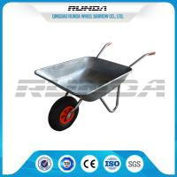 Buy cheap Industrail Heavy Duty Wheelbarrow 7 CUB , Garden Wheel Cart Galvanized Color product