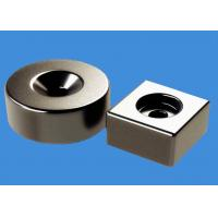 Buy cheap RoHS Countersunk Hole NdFeB Ring Magnets Block Magnets Custom Made product