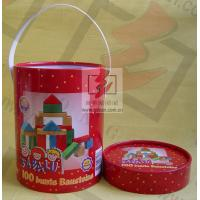 Handle Paper Cans Packaging Offest / CMKY / PMS Print Recoverable
