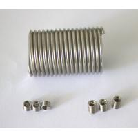 stainless steel free running steel coil inserts for PVC foam plate