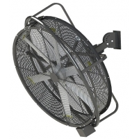 China Industrail wall-mounted swing fan power supply with great price on sale