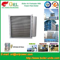 Buy cheap Hot Water CFB Boiler APH , Combustion Air Preheater In Steam Power Plant from wholesalers