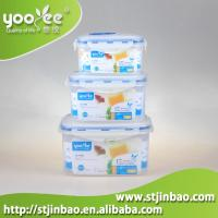 Buy cheap Promotion Gift FDA Foldable Plastic box PP Food Grade Freezable Microwavable Stackable Container product