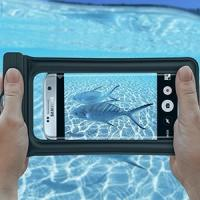 China Durable Fully Waterproof Phone Bag / Water Resistant Cover For Snorkeling on sale