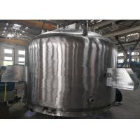 Buy cheap No Pollution Agitated Nutsche Filter Dryer Three In One Machine Solid Liquid Separation product
