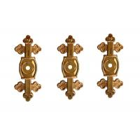 Quality Funeral Coffin Bracket Cross 6# Shape Gold Color PP Recycle Plastic Material for sale
