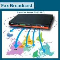 Buy cheap Bavo Broadcasting fax server FG40PRO product