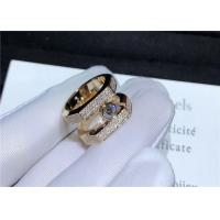 Buy cheap 18K Pink Gold Messika Jewelry Diamond Paved For Wedding / Engagement product