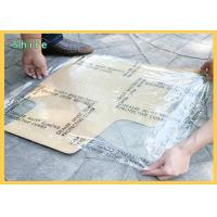 China 3Mil 4 Mil Adhesive Auto Carpet Protection Film Printable Auto Carpet Film on sale