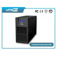 China High Frequency Online UPS 6Kva and 10Kva with Three Level Inverter tech and low price wholesale