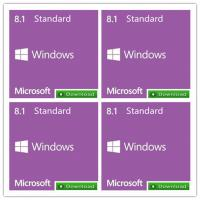 China  Original Windows 8 Product Key Code , Win 8.1 Standard FPP Key Update Online-Act  for sale