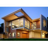 Buy cheap Luxurious Prefabricated Steel House / Light Steel Frame Prefab Metal House ETC product