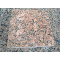 Buy cheap Nature Granite Stone Tiles Polished Finishing Solid Surface Red Color product
