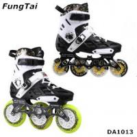 Buy cheap Factory Wholesale Men Women Roller Inline Skate Shoe Speed Skates Shoes 2 in 1 Roller Blade Yellow White Blue Color Spor product