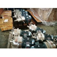 Buy cheap High Speed Centrifugal Transfer Pump Capacity 80 - 180T/D Stainless Steel Material product